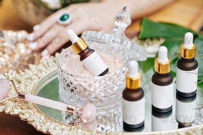 Massage oils and essences