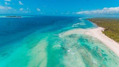 Matemwe coastline, Zanzibar