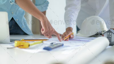 Engineers and architects design and plan the construction of new project buildings.