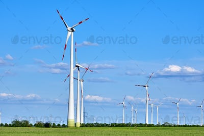 Wind energy generators