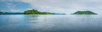 Friwen and Wall Island, West Papua, Raja Ampat, Indonesia