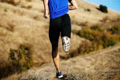 back man runner run