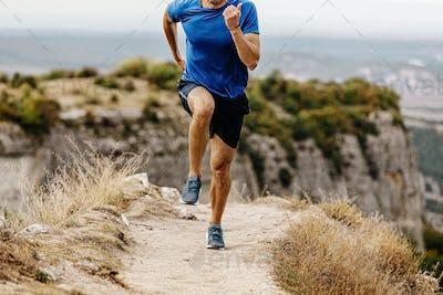run mountain trail