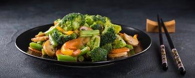 Stir fried vegetables