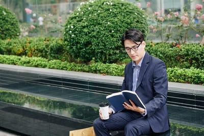 Reading Asian entrepreneur