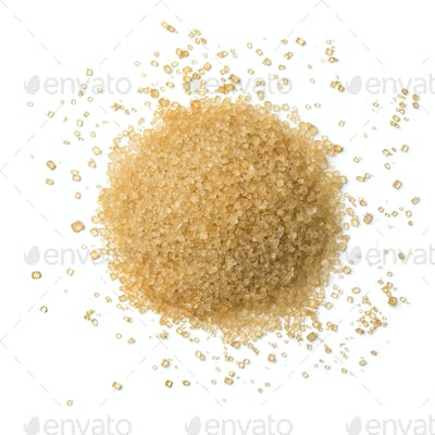 Heap of ane sugar close up