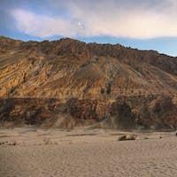 Hunder sand dunes in Nubra Valley, Ladakh, India.
