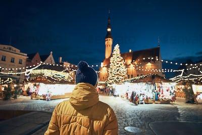 Traditional Christmas market