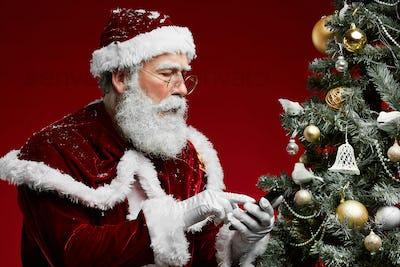Santa Claus Calling by Phone