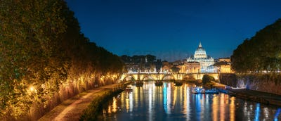 Rome, Italy. Papal Basilica Of St. Peter In Vatican