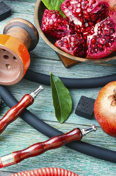 Pomegranate flavor hookah