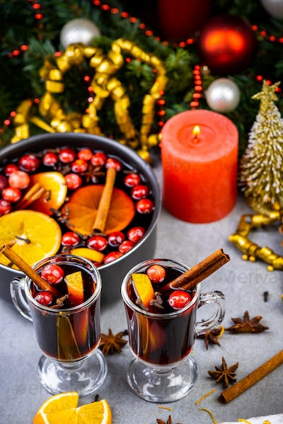 Celebrating Christmas with Home Made Mulled Wine