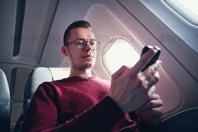 Internet connection during flight