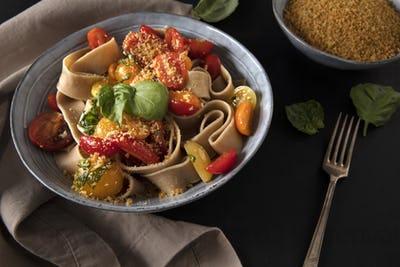 Whole Wheat Pappardelle Pasta