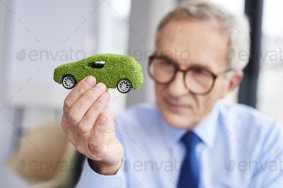 Concept of eco friendly car
