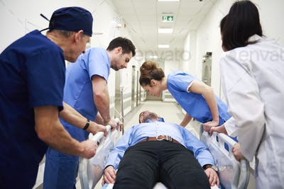 Emergency situation in the hospital