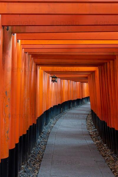 Fushimi Inari Shrine gates, Kyoto