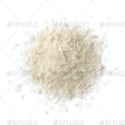 Heap of Panko bread crumbs