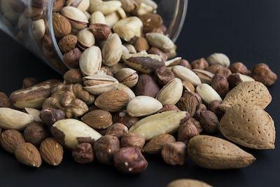 Nuts Mix, Abundance of Glass Jar