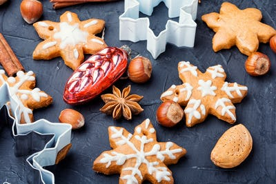 Baked Christmas cookies