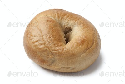 Fresh baked bagel