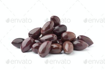 Heap of Calamata olives