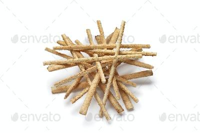 Breadsticks with sesame seeds
