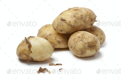First new potatoes
