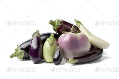 Composition of eggplants
