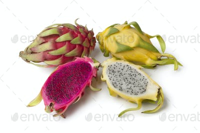 Yellow Pitaya and Costa Rica Pitaya