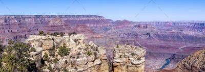 Grand Canyon Landscape from Moran Point