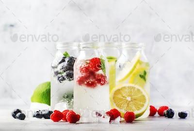 Summer drinks set