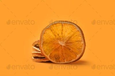 Christmas spice dried orange