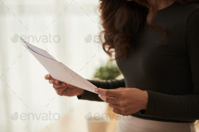 Checking business documents