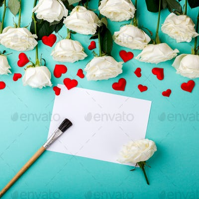 Love letter.Holiday Day Valentine ,Birthday,Greeting Card,Gift.