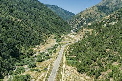 Valley near Longobucco, Calabria, Italy