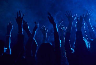 Crowd Dancing in Nightclub