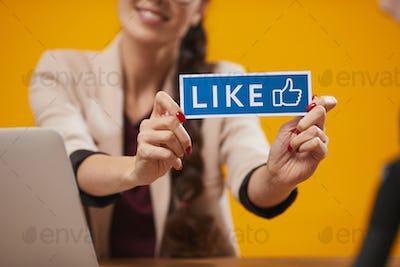 Likes in Social Media