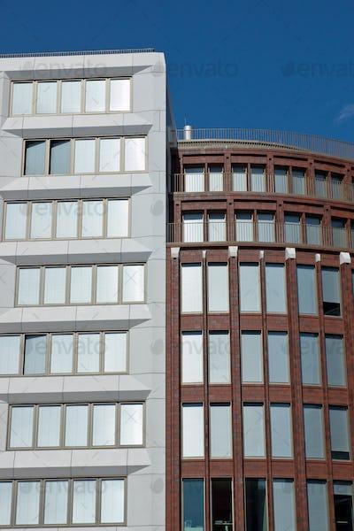 Modern office buildings in Berlin