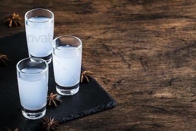 Ouzo - Greek anise brandy