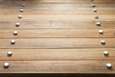 wooden plank board background as texture