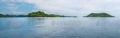Friwen and Wall Island, West Papuan, Raja Ampat, Indonesia
