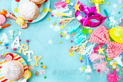 Cheerful party decorations