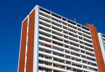 Apartment building in East Berlin