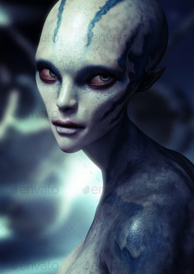 Alien female