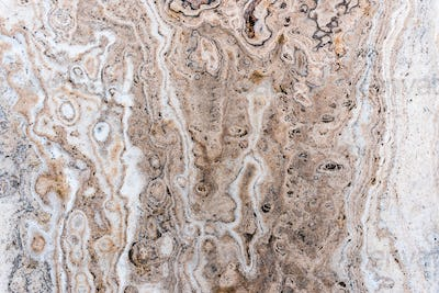 Smooth surface texture of marble stone