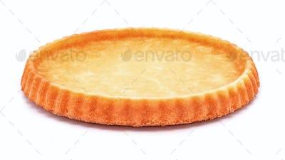 Flan case sponge cake tart base
