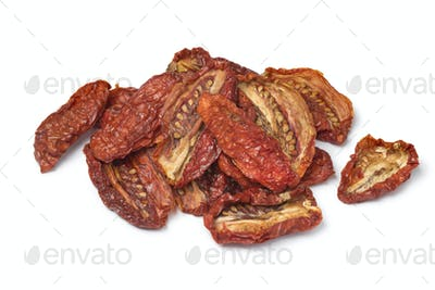 Heap of sundried tomatoes