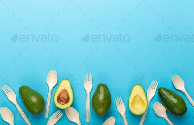 Recycling of avocado seed into eco plastic disposable tableware