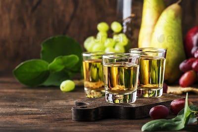 Balkan strong alcoholic drink
